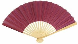 cheap paper fans 9 marsala burgundy wine silk fans for weddings 10 pack