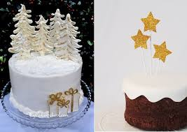 Christmas Cake Decorations Images by Chic Christmas Cake Decorating Cake Geek Magazine