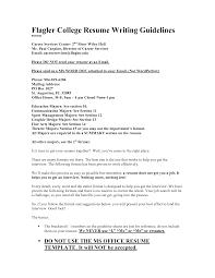 Flagler College Resume Writing Guidelines Career Services   mgorka com Flagler College Resume Writing Guidelines Career Services