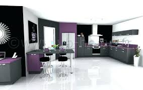 deco cuisine violet emejing salon gris blanc noir violet pictures amazing house