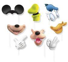 mickey mouse photo booth props mickey mouse clubhouse birthday ebay