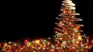 download wallpaper 1920x1080 christmas tree garlands holiday