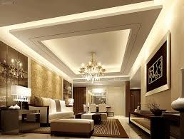 Small Room Chandelier Living Ceiling Design Simple Aquamarine Single Seater Sofa Simple