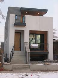 Contemporary Home Exterior by W3713 Attractive U0026 Affordable Small Contemporary Design 3