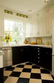 Two Color Kitchen Cabinets Two Tone Kitchen Dark Bottom Cabinets And White On Top Kitchen