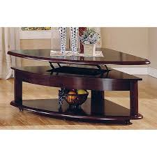 marble lift top coffee table have to have it steve silver lidya corner wedge lift top coffee