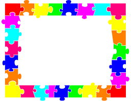 jigsaw puzzle border clipart 28