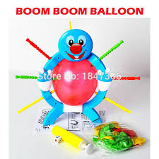 boom boom balloon manual skill party popular boom boom balloon