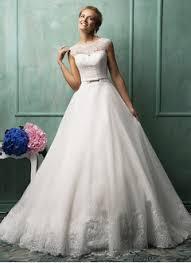 duchesse linie u ausschnitt bodenlang organza brautkleid mit blumen p2 beliebteste luxuriöse hochzeitskleider brautkleider brautkleider 2017