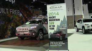 jeep suv 2014 jeep cherokee is 2014 rocky mountain suv of the year the fast