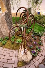 metal garden decorations decoration ideas collection gallery