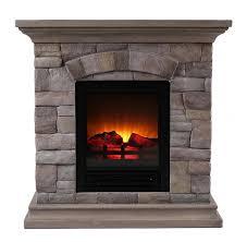 portable fireplace ok lighting portable faux stone electric fireplace reviews wayfair