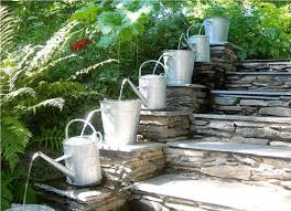easy garden waterfall fountains ideas luxury homes and decorative