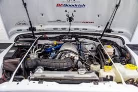 aev jeep hood pre owned 2003 jeep wrangler 6 4l hemi brute conversion