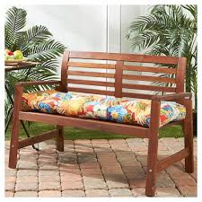 bench outdoor cushions target