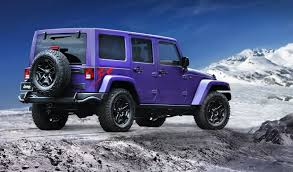 rubicon jeep 2016 black 2016 jeep wrangler backcountry goes plum crazy for la show