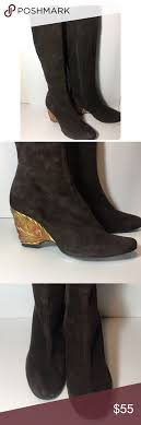 womens suede boots size 12 ramon tenza e royal brown boots size 12