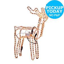 argos outdoor christmas decorations part 35 nodding reindeer