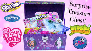 frozen halloween basket frozen surprise toy treasure chest frozen blind bags shopkins