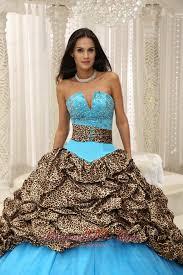 unique quinceanera dresses unique zebra print beading blue quinceanera gowns dresses most