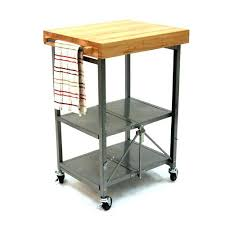 folding island kitchen cart folding island kitchen cart lrger emil folding island the