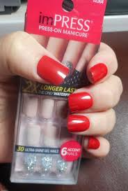 check out new impress press on manicure gel nails
