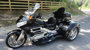 blue honda goldwing 1800 motorcycles for sale