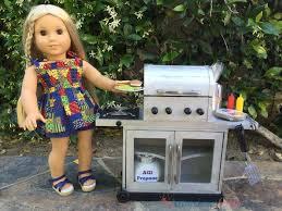 Kids Girls Dolls 4 Wheeler Diy American Doll Grill Youtube