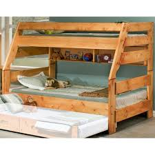 Pine Bunk Bed Chelsea Home Furniture Rustic Style Solid Pine Bunk Bed
