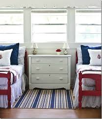 Beach Cottage Bedroom Ideas by 70 Best Red White And Blue Beach House Images On Pinterest