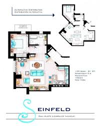 Tony Soprano House Floor Plan Accurate Floor Plans Of 15 Famous Tv Show Apartments Viralscape