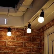 vintage light bulb strands novelty led fairy lights 20 metal string light battery operated