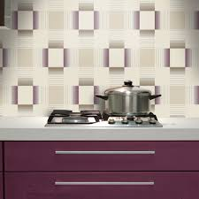 Kitchen Wallpaper holden hikari square stripe pattern embossed vinyl wallpaper 89140