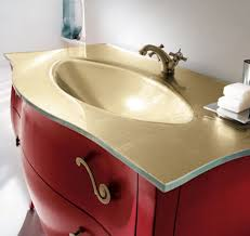 Red Bathroom Cabinets Elegant Vanity Set By Rab Arredobagno Ideal For Transitional
