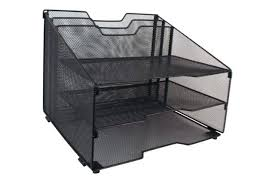 File Desk Organizer File Desk Organizer Desk File Organizer Black Mesh Desk File