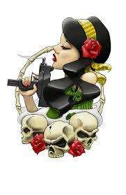 ghetto gypsy head tattoo by artisticrender on deviantart