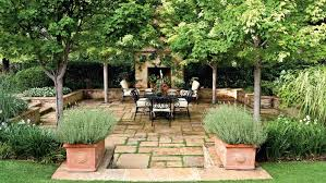 Terraced Patio Designs Backyard Designs Step Into An Oasis Southern Living