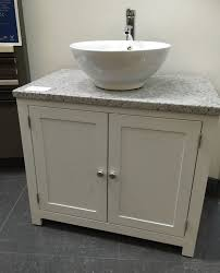 Painted Vanities Bathrooms White Granite Top Painted Vanity Unit 800mm Wide Bathroom Wash