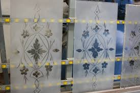victorian etched glass door panels etched glass window bruening glass works