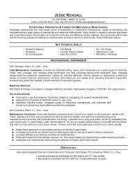 maintenance resume template maintenance resume template free http topresume info maintenance
