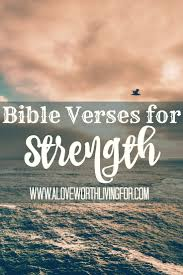 25 bible verses strength ideas