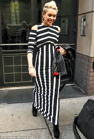 horizontal stripe maxi dress fashion dresses