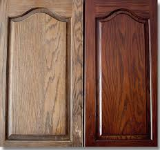 refinishing oak kitchen cabinets before and after restain oak kitchen cabinets home design ideas