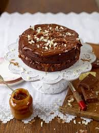 chocolate and salted caramel cake chocolate recipes jamie oliver