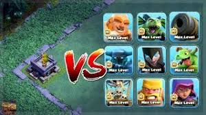 clash of clans all troops builder giant vs all troops and spells in clash of clans the giant