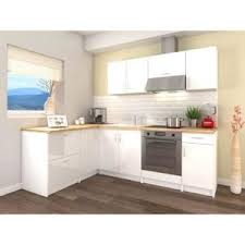 cuisine blanche laqué cuisine blanc laque achat vente pas cher