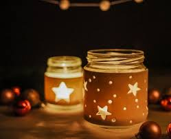 Decorated Jars For Christmas Diy Christmas Jar Crafts Fimo Coatglowing Dark