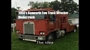 s model kenworth 1960 u0027s kenworth k123 day cab wrecker pt 1 youtube