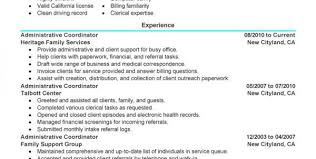 Project Coordinator Sample Resume by Qualifications Highlights And Professional Experience And Data