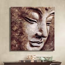 online get cheap canvas buddha wall painting aliexpress com